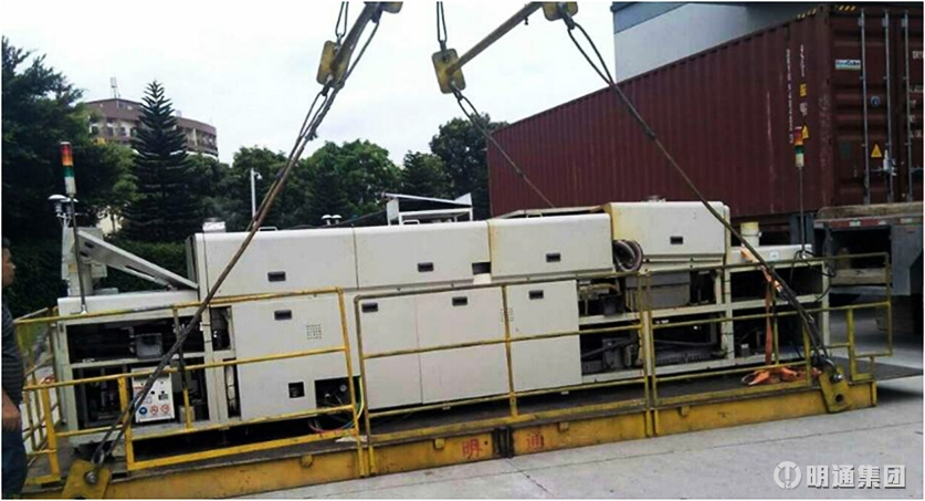 千亿国际qy966_SMT生产线设备搬迁