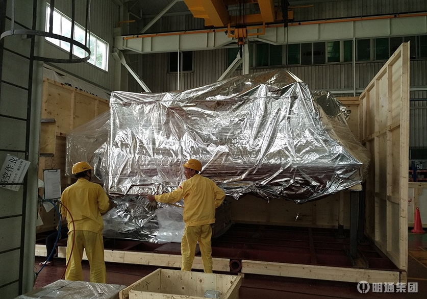 千亿国际886_大型机电设备出口包装项目