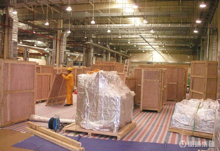 千亿国际qy966_造纸工厂设备出口包装
